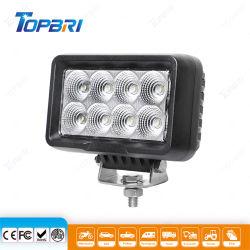 6pouces LED 80W 12V de la tour du véhicule d'urgence chariot Offroad voiture Feux de travail avec le support de pivot