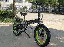4.0 سمين إطار العجلة جيب مصغّرة فائقة درّاجة كهربائيّة