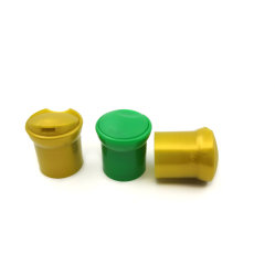 Haut de la qualité20mm bouteille ronde en plastique de gros de la vis bouchon de champignons couvercles pour le shampooing détergent