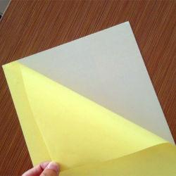 La película de plástico Máscara de papel adhesivo de dos laterales blanco negro fotos de 0,5 mm de espuma rígida de material de PVC hojas para álbum de fotos