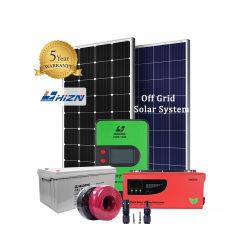 Hizn تخفيضات ساخنة خارج Gird 3kw الطاقة الشمسية النظام الصفحة الرئيسية 3000 واط