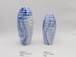 Wholesales Decoração personalizada de cores misturadas vaso de porcelana de embarcações de cerâmica Dom vaso de cerâmica