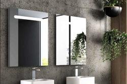 أضاء يصمّم حمام مرآة غرفة حمّام [لد] يشعل [فنيتي ميرّور] مع لمس مفتاح مع [س] [روهس] [إيب44] (معدمة, [بلوتووث] المتحدث عمل)