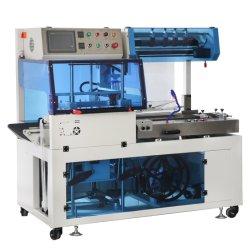 Sellado de calor y corte automático de la selladora máquina de envasado retráctil de