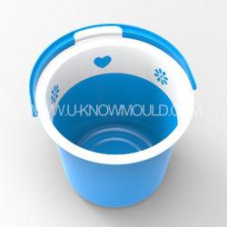 Molde de balde plástico de alta qualidade com alça de balde de Lavagem do Molde de Injeção de Plástico