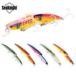 Méné Seaknight 25.5g 130mmfloating de pêche avec appâts crochets anticorrosion