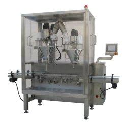 Depósito de Pó de alta velocidade para garrafas de plástico e metal