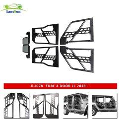 Para Jeep Wrangler 2018+ Jl para Lantsun JL1078 4 Tubo de acero Puerta de alta calidad y bajo precio