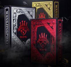 Черный цвет Покер Наборы карт Magic Classic приемы инструмент Покерные Игры