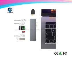 7 sur 1 pour concentrateur USB de type C