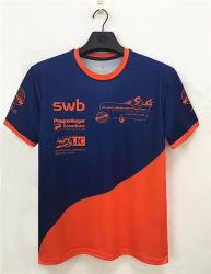 Impreso de moda Colocar provisionalmente el poliéster Camiseta T