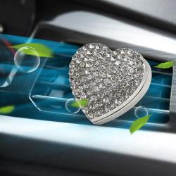 Разорванные в форме сердечка сплава мини-Car вентиляционную Clip духи