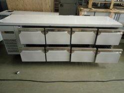 Gaveta 8 comercial bancada frigorífico/Resfriador Chiller/ao abrigo do chiller do frigorífico do contador