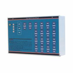 2019 Type de mode 2-18 Zones du panneau de commande d'alarme incendie conventionnelle pour système d'alarme incendie