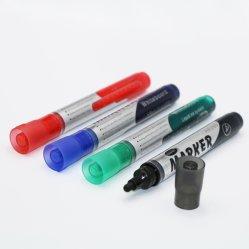 Multi liquide coloré de tableau blanc marqueur d'effacement à sec pour l'école et de bureau
