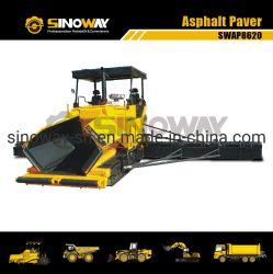 12mのアスファルトペーバー、道のフィニッシャー、道のペーバー、道路工事の機械装置