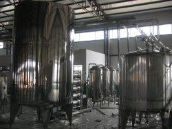 2000L/H el procesamiento de jugo fresco mezclado equipos