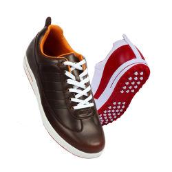 Professionnel de haute qualité fait main en cuir véritable unisexe chaussures de golf