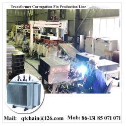 Трансформатор гофрированной стенки бака машины/гофрированный Fin формовочная машина для бака трансформатора/трансформатора масляного бака гофрированный Fin образующих линию