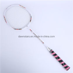 Châssis en alliage de fer Aluminiun et l'arbre de Raquette Badminton