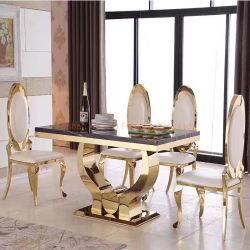 Moderne stilvolle zwei Personen Sitzmöbel Western Restaurant Möbel für Cafe Bar Milk Tea Shop Essmöbel Sessel Tisch-Sets Hochzeitsstuhl