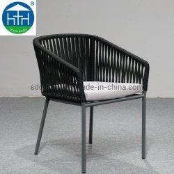 Vendita Calda Sedia Da Pranzo Portatile Rope Woven Cafe Sedia Giardino Patio Leisure Furniture C