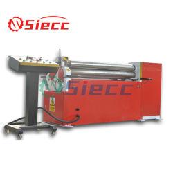 自動4ローラーのロールスロイスを曲げる油圧圧延Machine/CNCの版シート