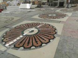 Medallón de chorro de agua natural Mosaico del suelo/Hotel/la decoración del hogar