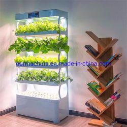 2020 en el interior el cultivo hidropónico sistema vertical de la luz de LED crecer verduras