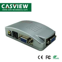 VGA к телевизору AV Converter всеобщей NTSC PAL VGA к телевизору AV переходника сигнала RCA видео Композитный выключателей для мобильных ПК