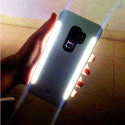 Светодиодная вспышка света Selfie мобильного телефона под руководством крышки