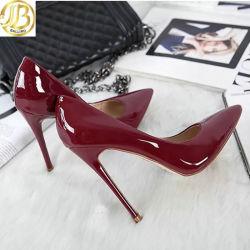 Классический элегантный High-Heeled насосов с ног обувь для женщин