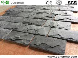 De zwarte Steen van de Muur van de Paddestoel van de Voorzijde van de Muur van de Steen van de Tegels van de Paddestoel van de Lei voor de Bekleding van het Comité van de Muur en de Hoek van de Muur