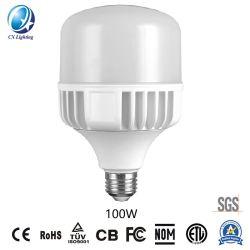 Luz de LED de alta potência da lâmpada T Alumínio Die-Casting 100W 4800lm E27/B22
