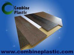 Varios de laminación de película de PVC de grano de madera en la junta de espuma de PVC