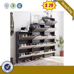 Fabricado na China Atacadista chinês de madeira armário da Sapata Home Mobiliário Gaveta Sala Escura