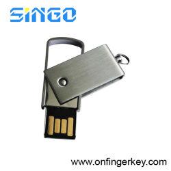 محرك أقراص USB محمول من الفولاذ المقاوم للصدأ (U-004)