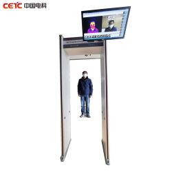 BVE-3000rcx 온도 측정, 얼굴 인식 금속 검출기 통과