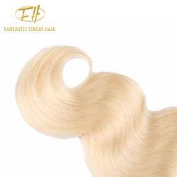 Sin procesar brasileño/Virgen India/Remy cabello tejido sin derramamiento