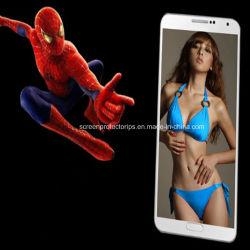 Revêtement oléophobe Téléphone cellulaire Film protecteur pour Samsung I9200 pour téléphone mobile