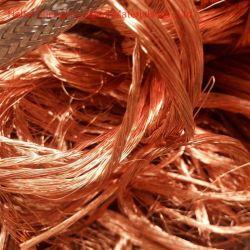 高純度金属銅線スクラップの高割引率 99.99%