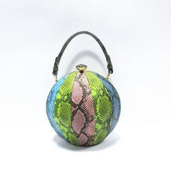 2019 Новые стили провод фиолетового цвета кожи Designer брелоки дамской сумочке леди вечером муфты сумки с Rhinestone кошельки A8051