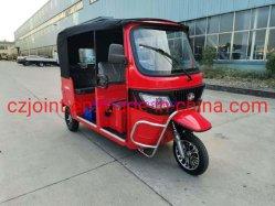 Véhicule Tuktuk Bajaj Tricycle électrique 60V 1500W/3000W E Rickshaw avec grande puissance