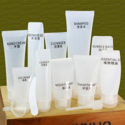 Le bottiglie stabilite vuote dello spruzzo del contenitore delle estetiche del contenitore del profumo della bottiglia 7-Piece di corsa hanno fissato la corsa in bottiglia