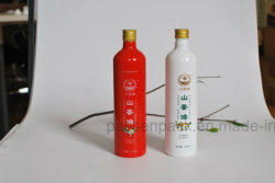 Flacone di alluminio personalizzato 500ml per imballaggio dell'olio (PPC-AB-103)