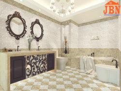 Стены в ванной комнате с остеклением декоративные керамические плитки (BW2-26502)