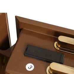 panel táctil LCD Caja Fuerte con cajón oculto