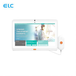 OEM 벽면 장착 13.3인치 터치 스크린 케어 콜 핸들 서비스 PoE 환자 의료 병원 의료 Android 태블릿