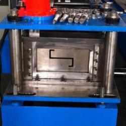 Et la perforation de coupe hydraulique Z Panne Machines de formage de rouleau en acier