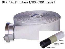 BS6391 Type1/DIN 14811 Class1 manguera contra incendios
